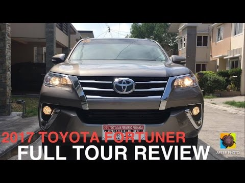 2017 Toyota Fortuner DSL 2.4G 6spd AT Full Tour Review