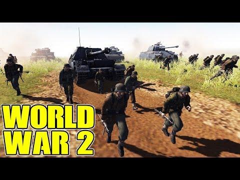 EPIC BATTLES OF WWII - REALISM MOD | Men of War: Assault Squad 2 Multiplayer Gameplay