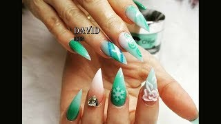 new art design/alex nail art design/NAIL TECHNICIAN-DAVID-THE BEST NAIL ART DESIGN COMPILATION #40