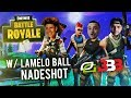 FORTNITE WITH LAMELO BALL (NEW BBB TEAM?)