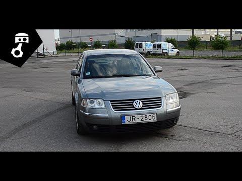 Volkswagen Passat B5 5.5 (1.9 TDI 4motion) Тест-драйв; zhmuraTV