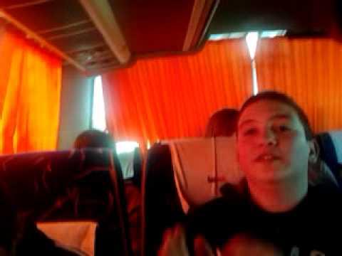 Orgia para tres en el autobus! xD