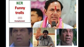 kcr funny troll about unemployment | kcr spoof