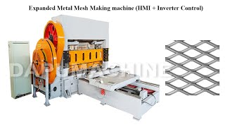 160T Extended Expanded Metal Mesh Making Punch Machine