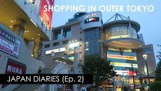 VLOG// JAPAN Diaries Ep.2 Shopping in Tokyo