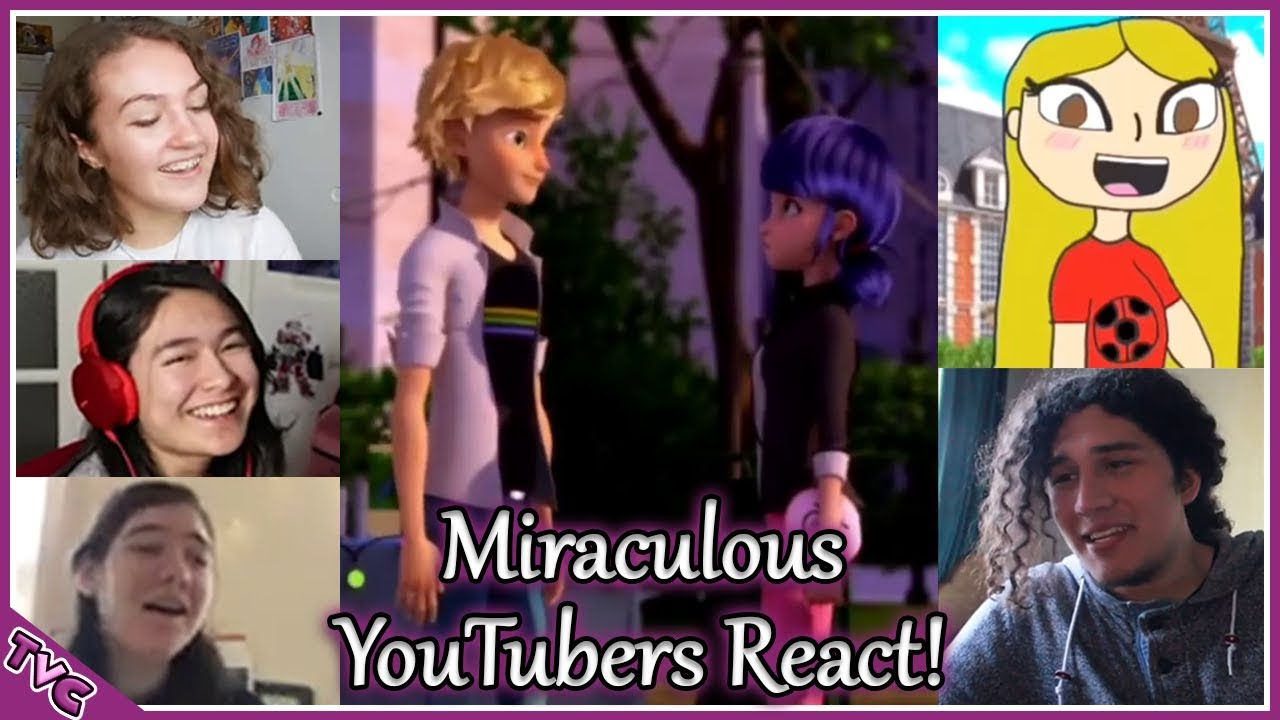 Miraculous YouTubers React To Adrienette Scene From Mayura | Miraculous Tales of Ladybug & Cat N