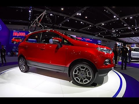 crossover ford ecosport  youtube