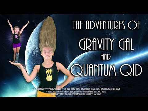 Gravity Gal and Quantum Qid | Episode 1 | Gravity Gal gets her Powers