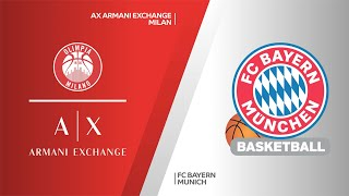 AX Armani Exchange Milan - FC Bayern Munich Highlights | Turkish Airlines EuroLeague, PO Game 5