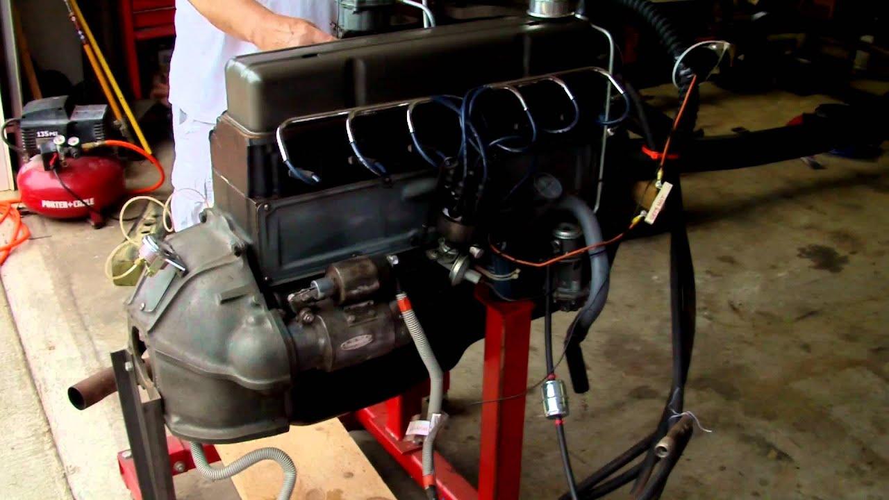 Chevy 235 1954 Rebuilt Youtube