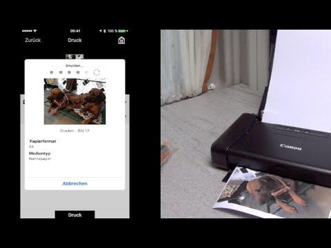 drucken im wohnmobil canaon pixma ip110 akkubetriebener. Black Bedroom Furniture Sets. Home Design Ideas