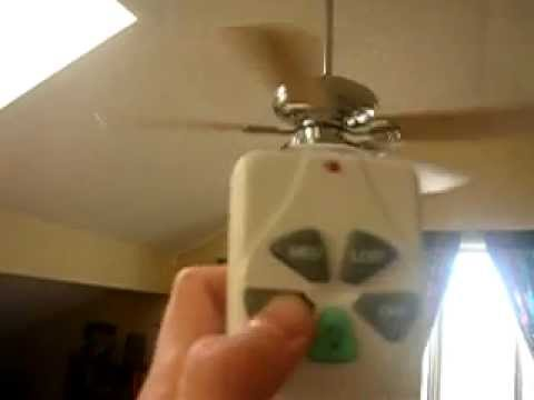 Harbor Breeze Cascade Ceiling Fan Youtube