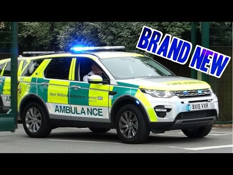 Ambulance Responding New Land Rover Discovery Sport