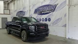Pre-owned 2016 GMC Sierra 1500 CrewCab All Terrain 5.3L, Leather Overview | Boundary Ford