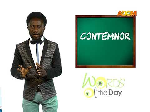 WORD OF THE DAY 16TH AUGUST 2017