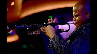 Curtis Taylor plays Miles Davis' Moon & Stars trumpet!!