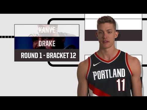 Meyers Leonard Does the Bracket Challenge c9fa19cbf