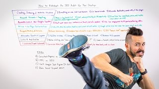 How to Create an SEO audit for your startup - Whiteboard Friday