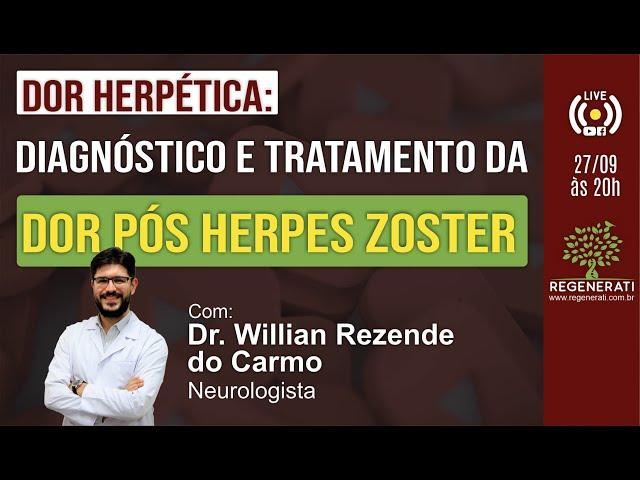 Dor Herpética: Diagnóstico e Tratamento da Dor Pós Herpes Zoster