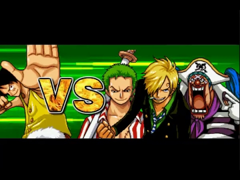 One Piece Hot Fight 0.7 - Luffy Vs Zoro & Sanji & Buggy
