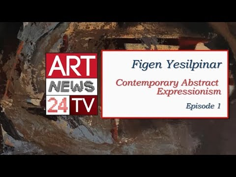 TURKISH ARTISTS PAINTERS : Figen Yesilpinar Contemporary Expressionism