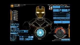 My Iron man 3 Desktop system