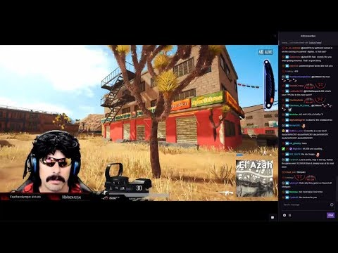 DrDisrespect Plays The NEW PUBG Desert Map + RIP Suicide