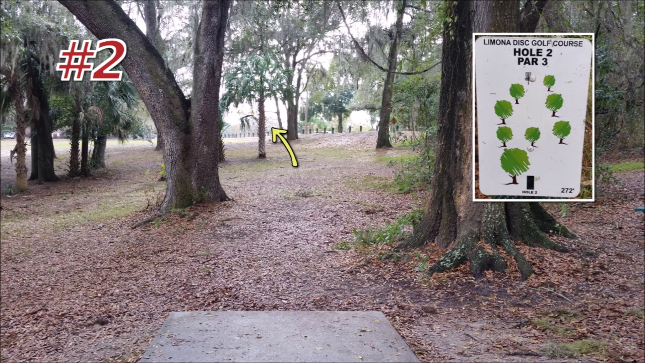 Limona Disc Golf Course Review Brandon FL - YouTube