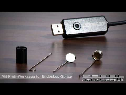 Testfootage from cheap endoscope camera doovi - Camera endoscopique usb ...