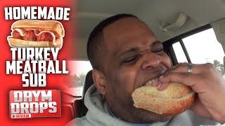 Homemade Turkey Meatball Sub