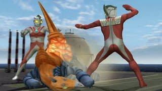 Video Ultraman Taro & Ace TAG Team Mode ★Play ウルトラマン FE3 download MP3, 3GP, MP4, WEBM, AVI, FLV Maret 2018