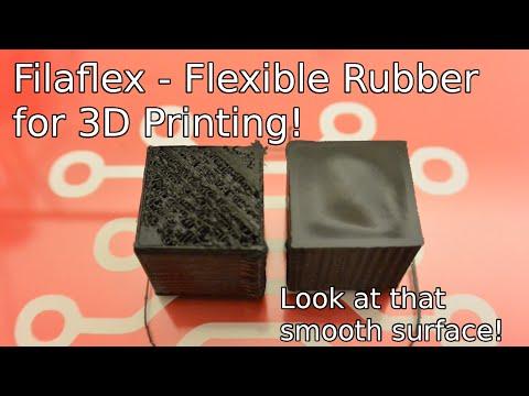 Filaflex - 3D Printable Rubber!