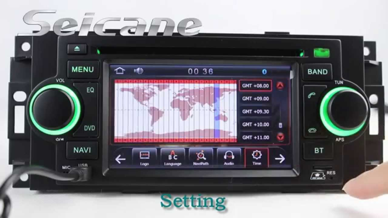 2002 2003 20042007 Dodge Durango Aftermarket Radio Bluetooth Navigation DVD Player with USB SD