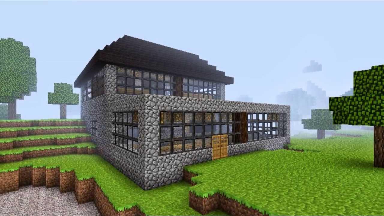 Minecraft szép házak - YouTube