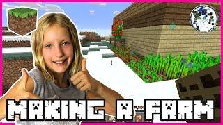 Making a Farm in Snowland / Minecraft