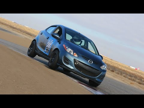 Lap of Buttonwillow 13CW - Mazda2 - 2:17:04
