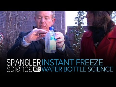 Instant Freeze - Water Bottle Science - Cool Science Experiment