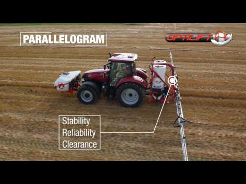 KUHN DELTIS 2 - Mounted agricultural sprayers (In action)