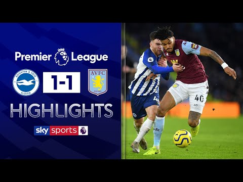 Jack Grealish magic rescues a point for Villa | Brighton 1-1 Aston Villa | Premier League Highlights