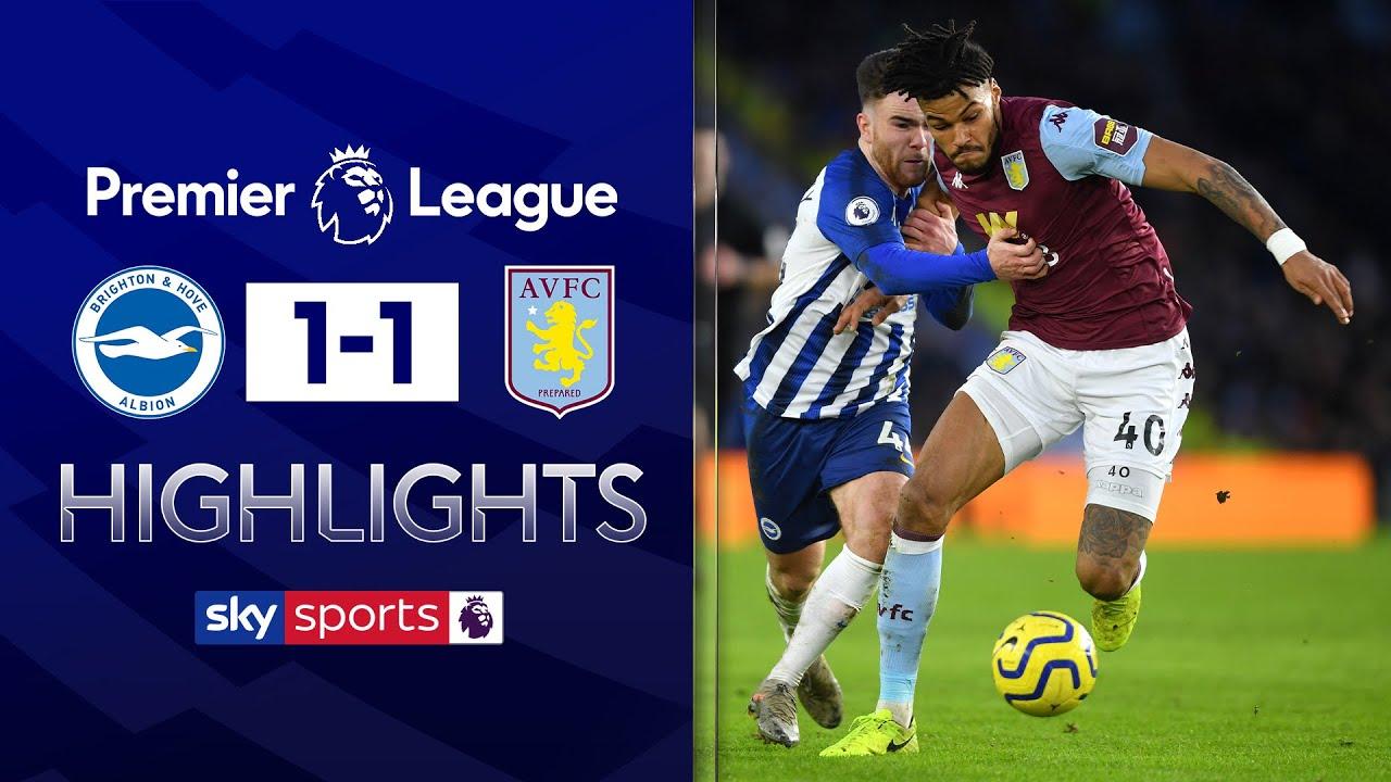Jack Grealish magic rescues a point for Villa | Brighton 1-1 Aston Villa | Premier League Highlights