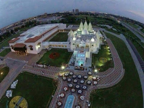 Akshardham Biggest Hindu Temple In New Jersey USA Opening on August 10th - Hybiz.tv