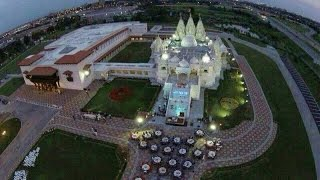 akshardham biggest hindu temple in new jersey usa opening on august 10th hybiz tv