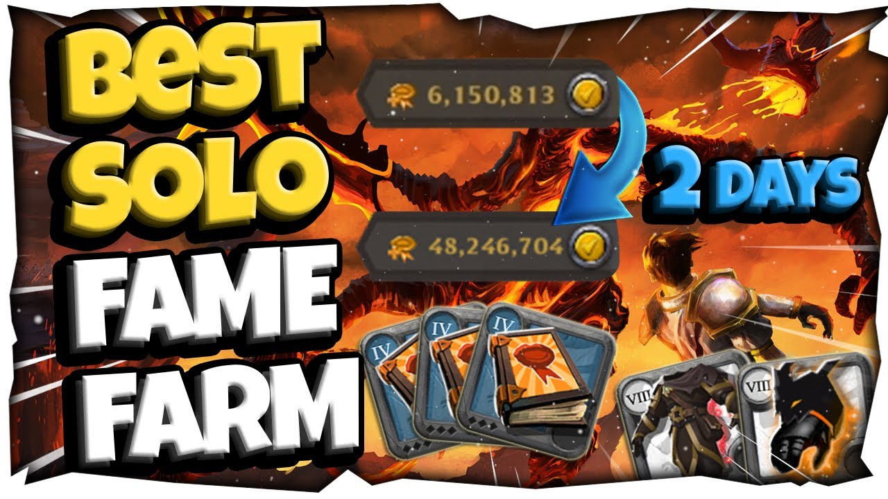 ALBION ONLINE   THE BEST SOLO WAY TO MAKE FAME u0026 MONEY REALLY FAST THINK ABOUT IT NOW