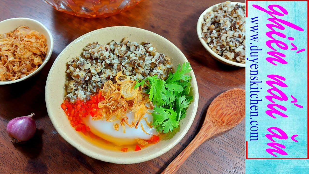 Cách Làm Bánh Đúc Nóng Chay Mềm, Mịn, Không Vôi By Duyen's Kitchen | Ghiền nấu ăn