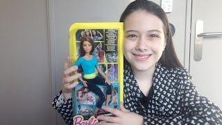 Barbie mais articulada do mundo - Barbie Fitness - Review - Julia Silva