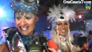 Vulcano Reinona Gala Carnaval Drag Queen Maspalomas 2012