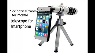 12x optical zoom telescope fof smartphone