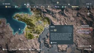Assassin's Creed Odyssey: Night Ten: Navigating Northern Greece