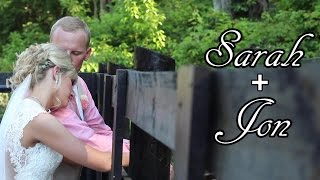 Ashland Kentucky Wedding Videography - Outdoor Wedding at Black Horse Farm - Sarah and Jon