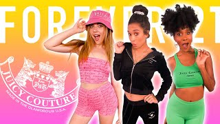Trying Forever21's JUICY COUTURE Collection! *hot or not?!*